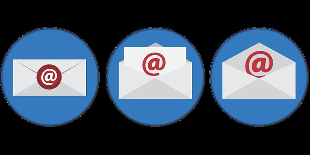 zasílání mailů