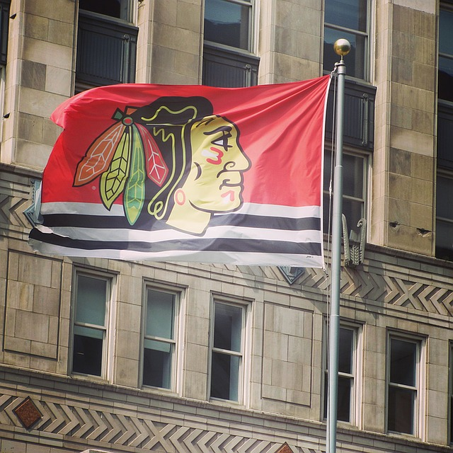 Vlajka Chicaga